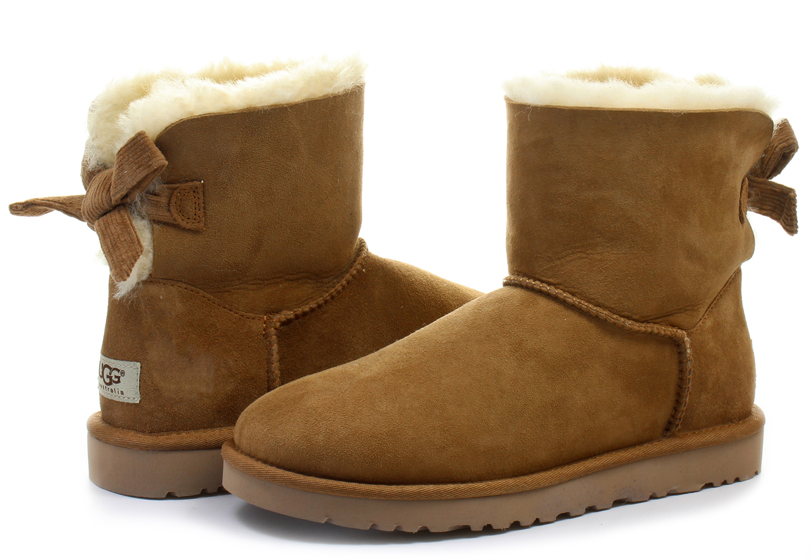 ugg bailey bow mini corduroy