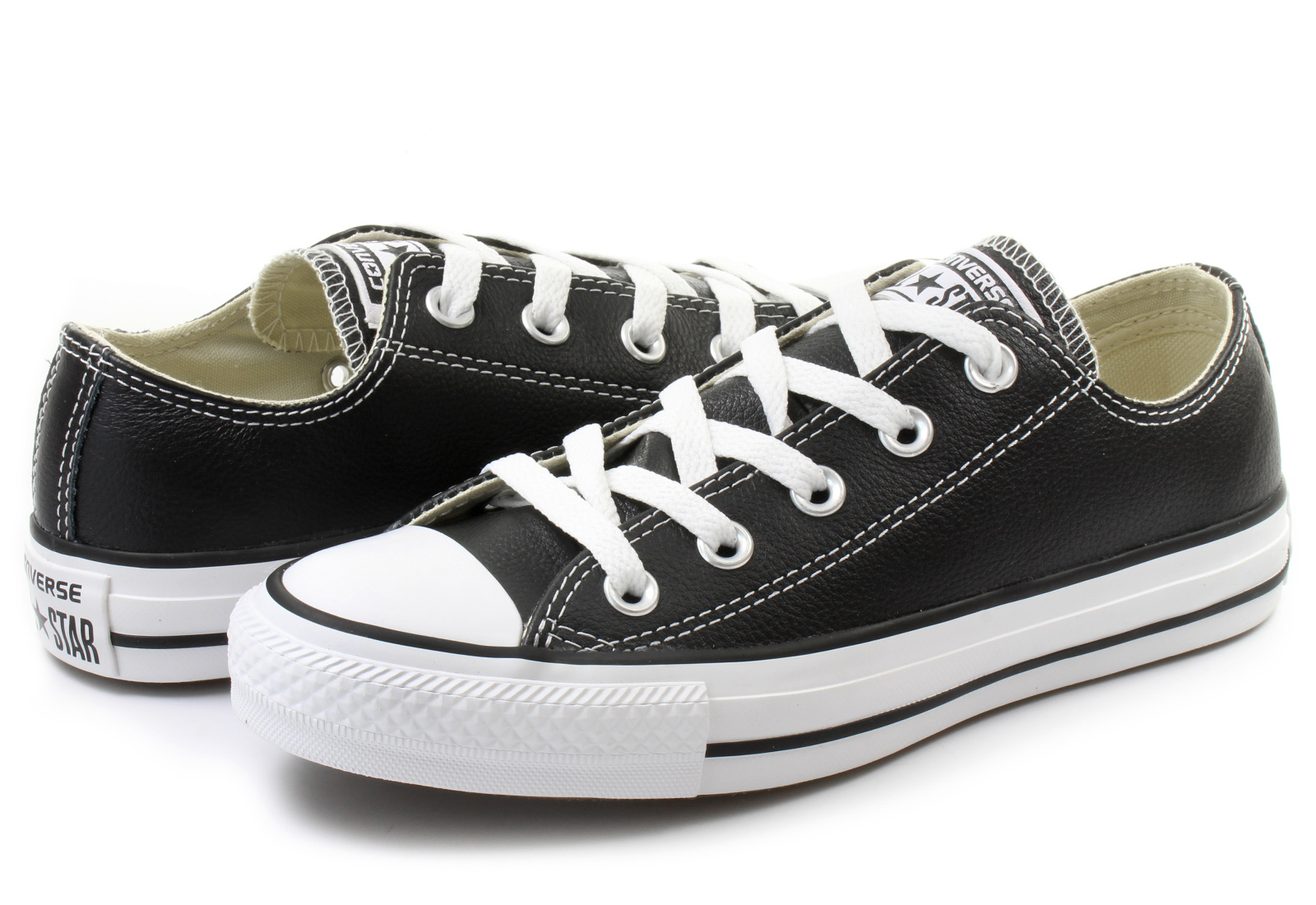 9b8bdff3f9 Converse Tornacipő - Ct As Core Leather Ox - 132174C - Office Shoes ...