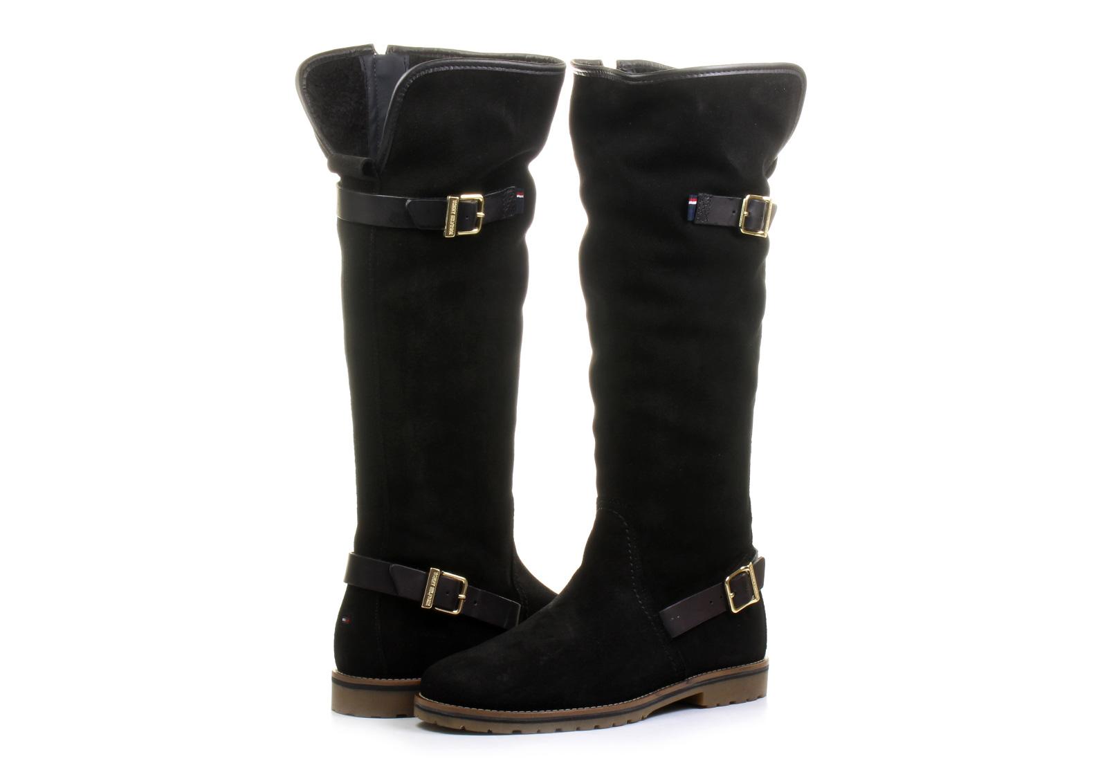 Tommy Hilfiger Csizma - Wendy 1bw - 15F-0016-990 - Office Shoes  Magyarország Skechers Csizma - Boot High ... ed031694ff