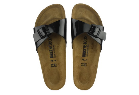 Birkenstock Papucs - Madrid - Narrow - 040303-blk - Office Shoes ... 96bb0a9234