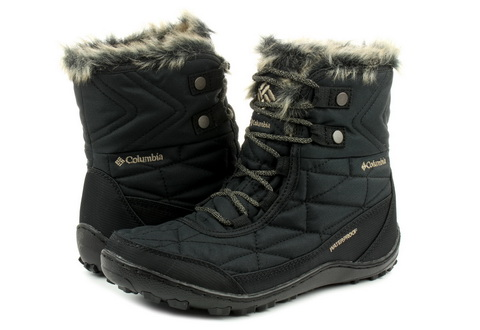 Columbia Csizma - Minx Shorty Iii - 1803151-blk - Office Shoes ... 7a4b5ee1f8
