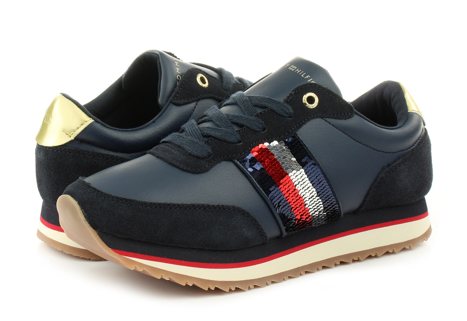 5798198fec Tommy Hilfiger Cipő - Angel 8c1 - 18H-3703-403 - Office Shoes ...