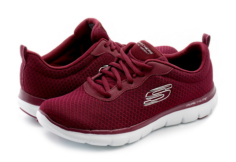Skechers Cipő - Flex Appeal 2.0 - Newsmaker - 12775-burg - Office ... 0c5f4fde21