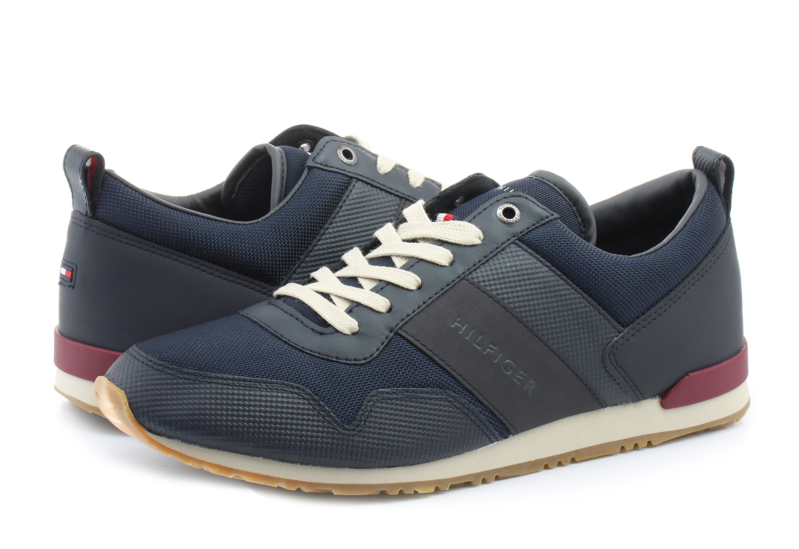 3f3228f2c0 Tommy Hilfiger Cipő - Maxwell 11 - 18S-1477-403 - Office Shoes ...