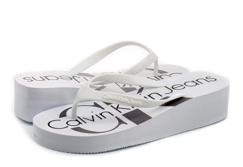 Calvin Klein Jeans Papucs - Tesse - RE9734-WHT - Office Shoes ... 091c024ad0
