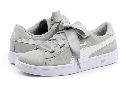 Puma Cipő - Smash V2 Ribbon Jr - 36600309-gry - Office Shoes ... 038c5015d0