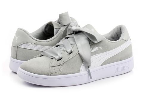 Puma Cipő - Smash V2 Ribbon Jr - 36600309-gry - Office Shoes ... 61f58e99c0