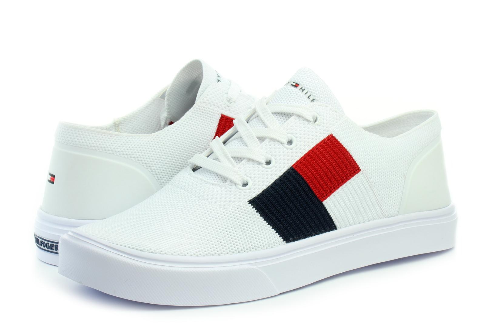 99bde7d4c30a Tommy Hilfiger Cipő - Malcolm 15d Knit - 19R-2545-YBS - Office Shoes ...